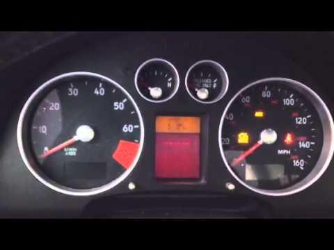2001 Audi TT cluster issues
