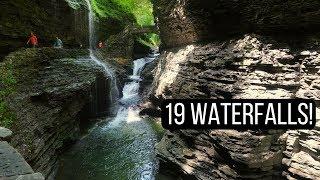 Exploring the Finger Lakes: Watkins Glen State Park