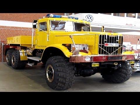 Kraz 255B V8, тюнинг
