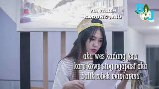 Kadung Jeru - Ndarboy Genk Cover Via Vallen (Lirik Lagu 2019) LIVE