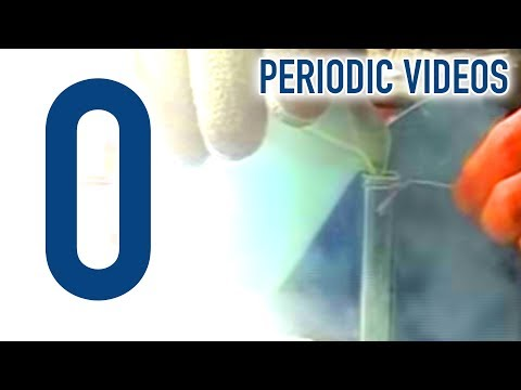 Oxygen - Periodic Table of Videos