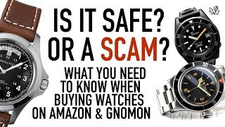 Is Buying Watches Online From Amazon & Gnomon Safe? Are They Legit? - GIAJ#3