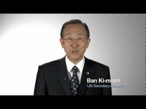 World Malaria Day with SG Ban Ki-Moon & Shaquille O'Neal
