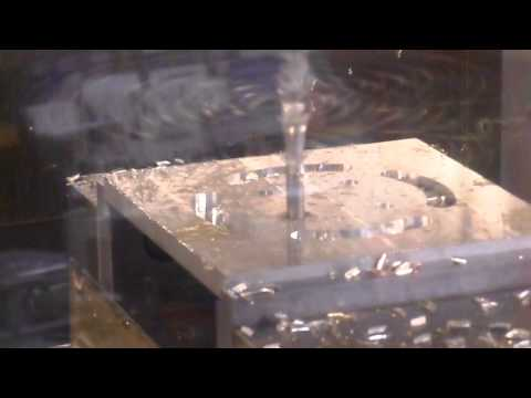CNC Machining on a Haas VF-4 Milling Machine