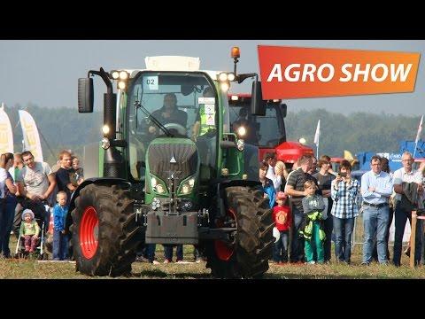 Agro Show Bednary 2014 - pokaz maszyn w ringu