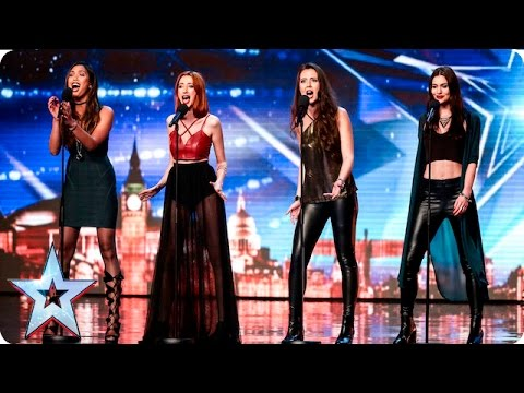 Zyrah Rose are on fire but why is Simon feeling cold?   Auditions Week 7   Britain's Got Talent 2016