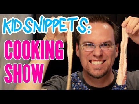 "Kid Snippets: ""Cooking Show"" (Imagined by Kids)"