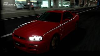 Gran Turismo 6 Like the Wind! Max Speed Test in a Nismo Skyline GT-R R Tune (R34) '99! GREAT CAR!
