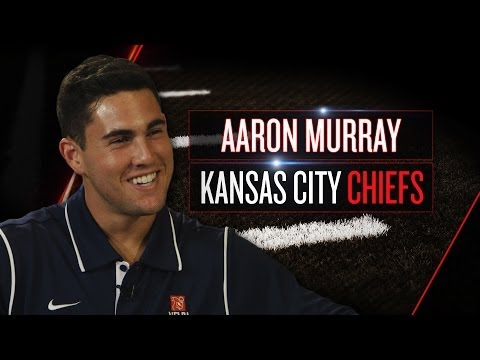 Aaron Murray on new Chiefs role, adjustment from Georgia (2014 NFLPA Rookie Premiere)