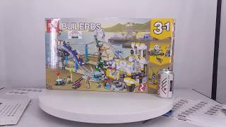 Mở hộp Lepin 24051 Lego Creator 3 in 1 31084 Pirate Roller Coaster giá sốc rẻ nhất
