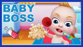 Baby Boss: Learn Baby Care Games - Doctor Visit, Feed Naughty Baby - Cute Baby Game For Kids