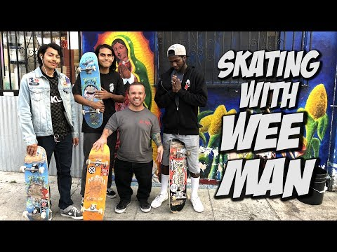 SKATING WITH WEEMAN AND THE NULLITY TEAM !!! - NKA VIDS -