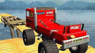 Offroad Monster Truck Driving Trials 2019 #5 - Lái Xe Tải Quái Vật Trên Đường Đồi Núi