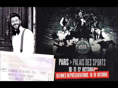 christophe ma concert 12 oct 2014 palais des sports. Black Bedroom Furniture Sets. Home Design Ideas