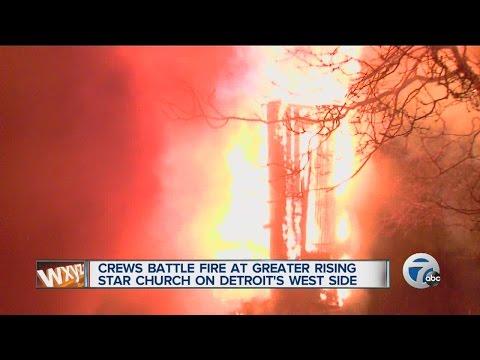 Fire destroys church