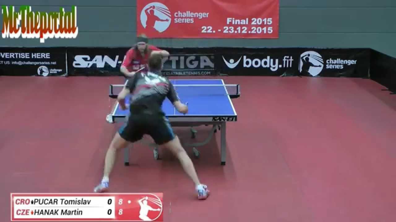 Table Tennis Challenger Series - Tomislav Pucar Vs Martin Hanak -