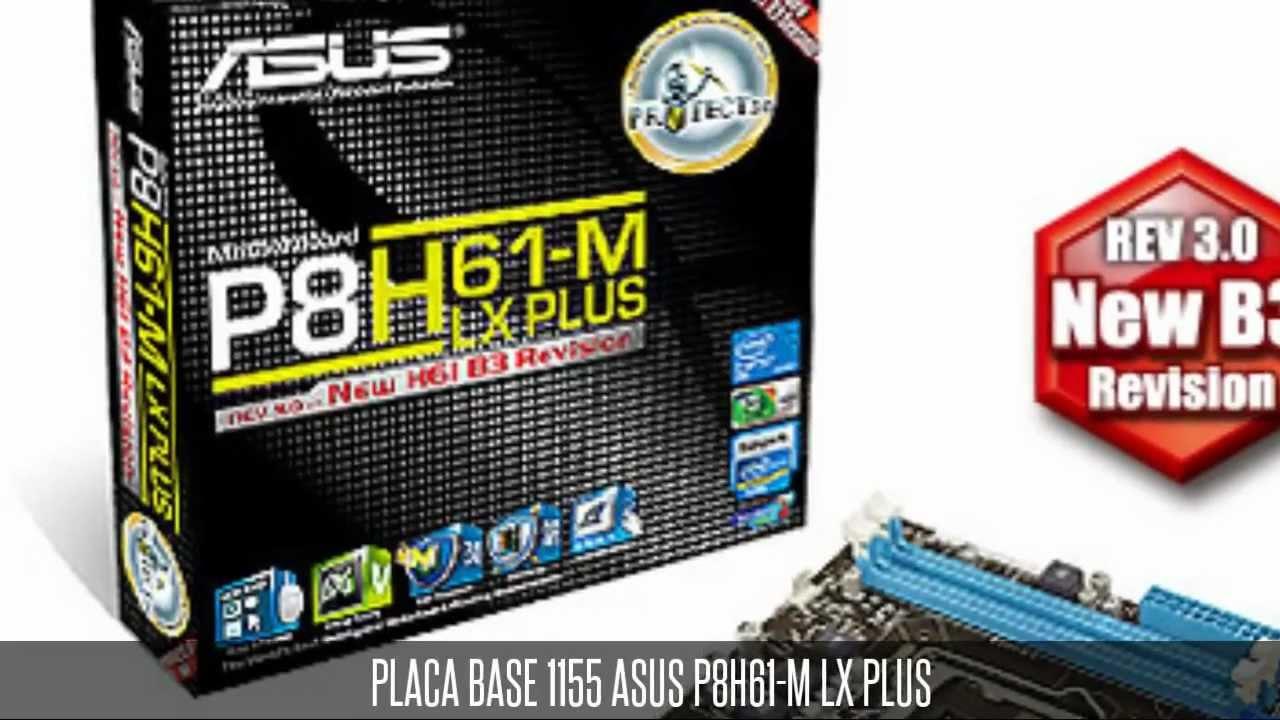 Asus P8h61-m Lx3 Plus 1155 Asus P8h61-m lx Plus