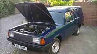 A look and drive of my barn find 1984 Morris Ital 575 Van