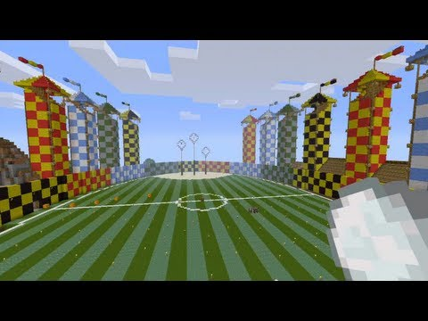 Minecraft Xbox — Quidditch Pitch — Earl Of Locksley's World Tour — Part 2
