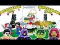 Teen Titans Go Lego Mini Figures Sneak Into Justice League Stop Motion Dance Party By EpicToyChannel mp3