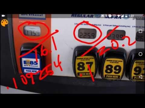 E85 vs Gasoline - Which is cheaper?