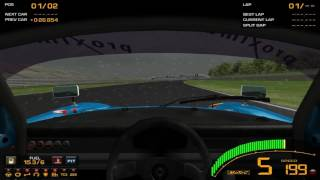 [Game][Racing] GTR2 Driving School Track Work Techniques 1 Basics - 2 Braking - Level 8 Observe