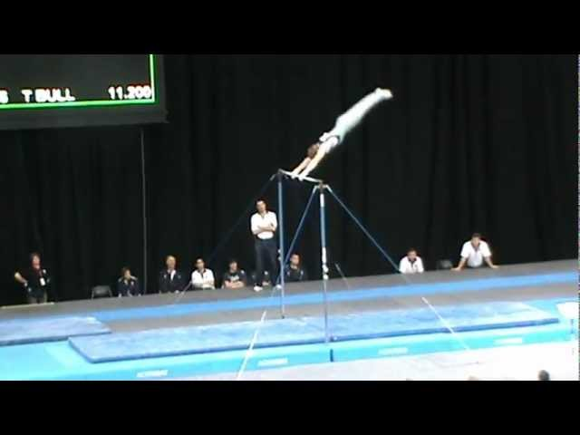 Nationals 2012 Luke Wiwatowski High Bar