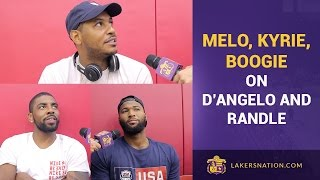Carmelo Anthony, DeMarcus Cousins, Irving Talk D