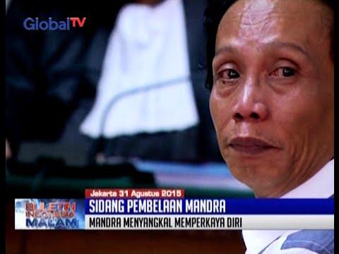 Bacakan Nota Pembelaan, Pelawak Mandra Naih Tak Kuasa Menahan Air Mata - BIM 31/08