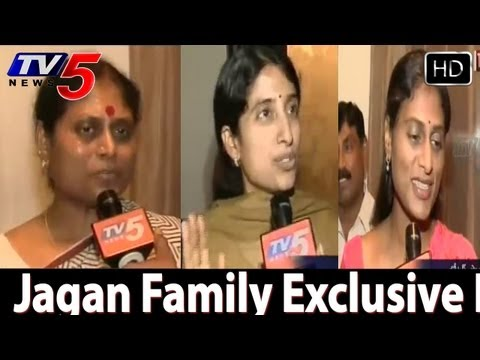 YS Jagan Family Exclusive Interview With TV5