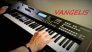 Vangelis - Chariots of Fire - Titles - My Version - Piotr Zylbert on Yamaha moXF6 - Poland (HD)