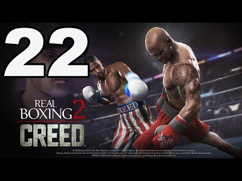 Real Boxing 2: CREED - Gameplay Walkthrough Part 22 - Iceberg Event (iOS. Android)