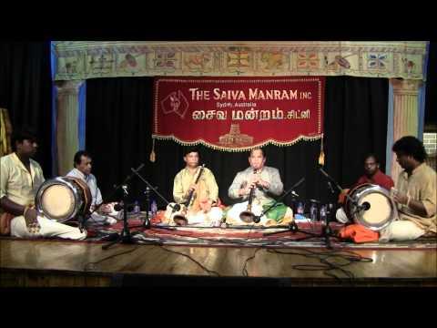 Nadaswaram Kacheri - Nagenthiran- April 2012 -  Part 1