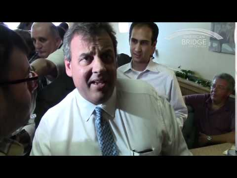Chris Christie, MJ's Restaurant, 07/17/14