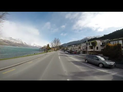 Driving in New Zealand - Queenstown