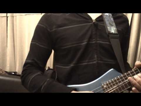 Hofner shorty guitar jam