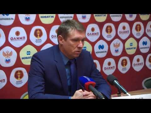 Послематчевая пресс-конференция Х. Биджиева и А. Талалаева