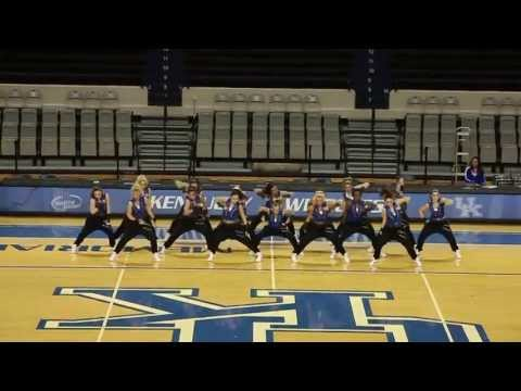 University of Kentucky Dance Team Hip Hop Nationals Preview...