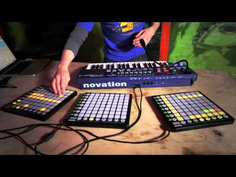 Novation // Live beats with UltraNova and Launchpad - Part 2
