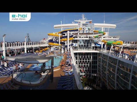e-hoi an Bord der gigantischen Harmony of the Seas