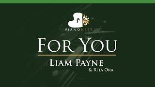 Download Lagu Liam Payne & Rita Ora - For You - LOWER Key (Piano Karaoke / Sing Along) Gratis STAFABAND
