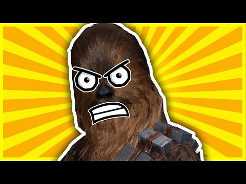 Don't laugh at Chewbacca - Star Wars Battlefront Funny Moments #3