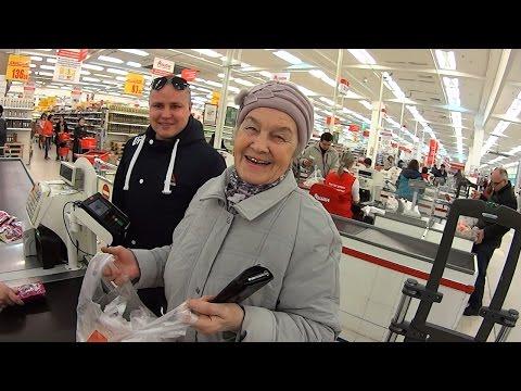 Акция добрых дел / Помогаем пожилым людям