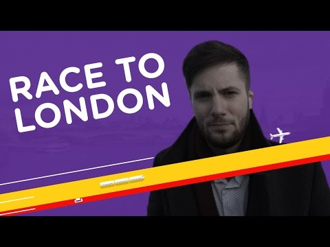 Race to London. The Fastest Way from A to Flybe. (Short version)