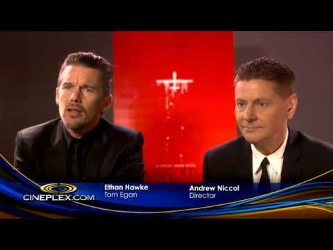 Good Kill's Ethan Hawke And Andrew Niccol - Cineplex Interview