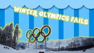 25 Winter olympics funny fails & serious crashes ❄️