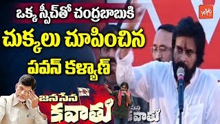 Pawan Kalyan Speech  | JanaSena Kawathu on Dowleswaram Cotton Barrage