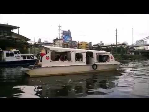 Balik Tanaw Pasig River Ferry Tour Part 1 of 6