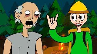 GRANNY THE HORROR GAME ANIMATION #13 : BALDI'S BASICS Vs GRANNY