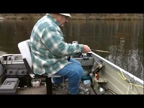 Late Fall Wisconsin River Fishing - Nov. 9th, 2012